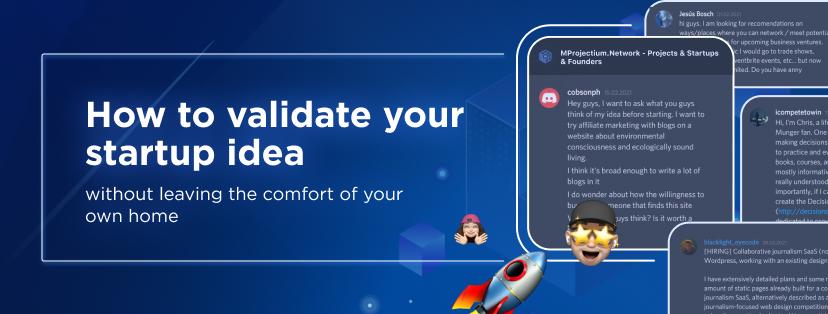 startup ideas need feedback